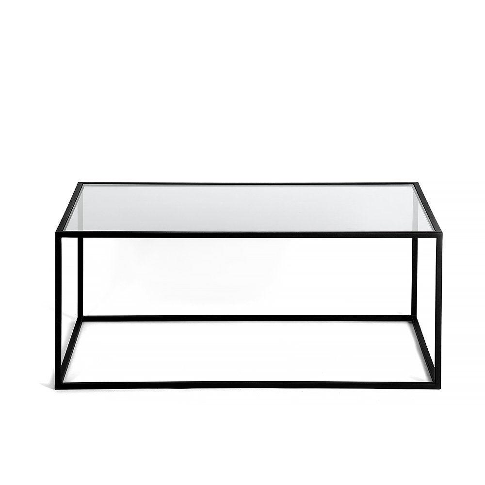 Журнальный стол London black, прозрачное стеклоЖурнальные столики<br><br>