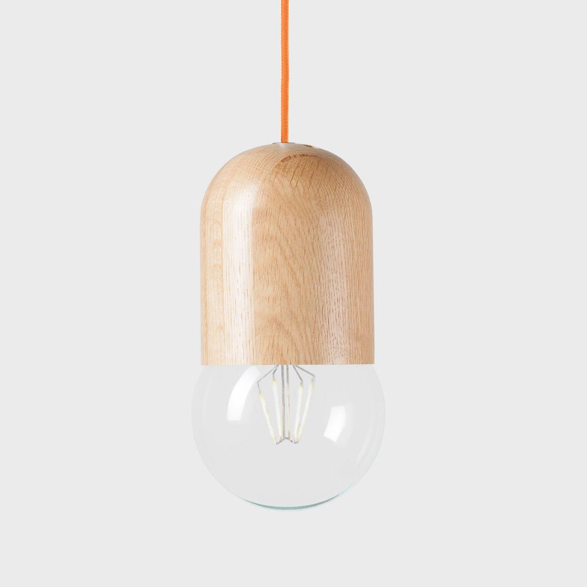 Подвесной светильник Light Bean Bubble с оранжевым проводомПодвесные светильники<br><br>