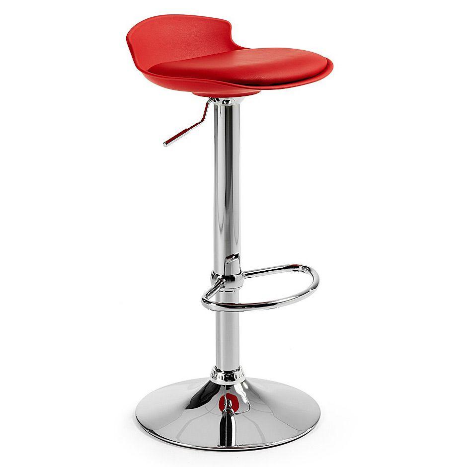 Купить Барный стул Amari красный в интернет магазине дизайнерской мебели и аксессуаров для дома и дачи