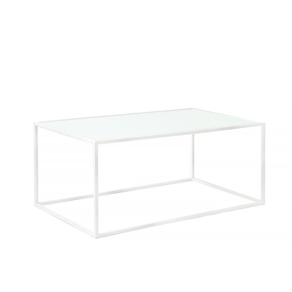 Журнальный стол London white, матовое стеклоЖурнальные столики<br><br>
