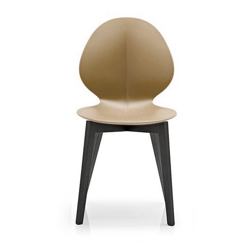 Купить Стул Basil тёмный ясень/коричневый в интернет магазине дизайнерской мебели и аксессуаров для дома и дачи