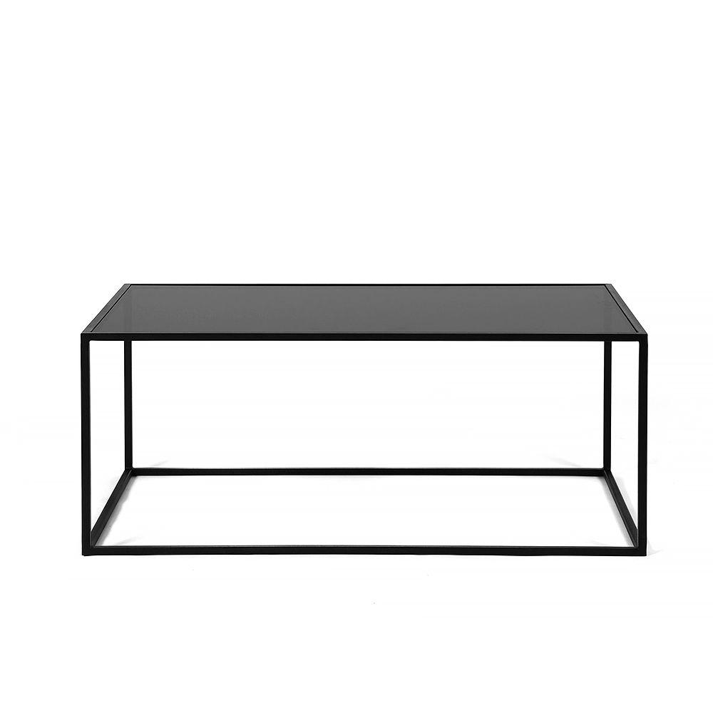 Журнальный стол Darmian 2, черное стеклоЖурнальные столики<br><br>