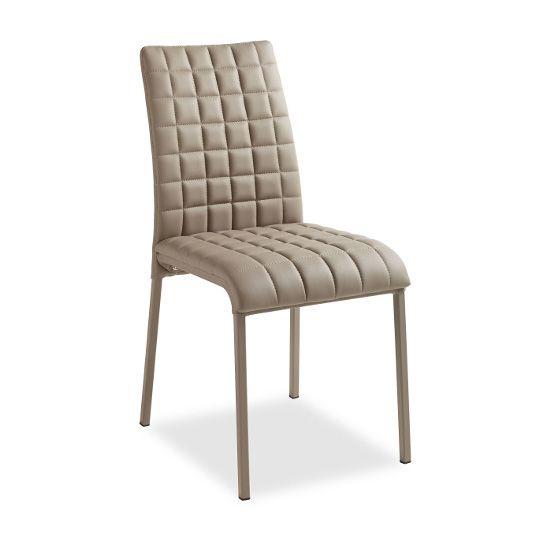 Стул Emma коричневыйМеталлические стулья<br><br>