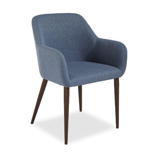 Кресло Federica венге/синееДеревянные стулья<br><br>