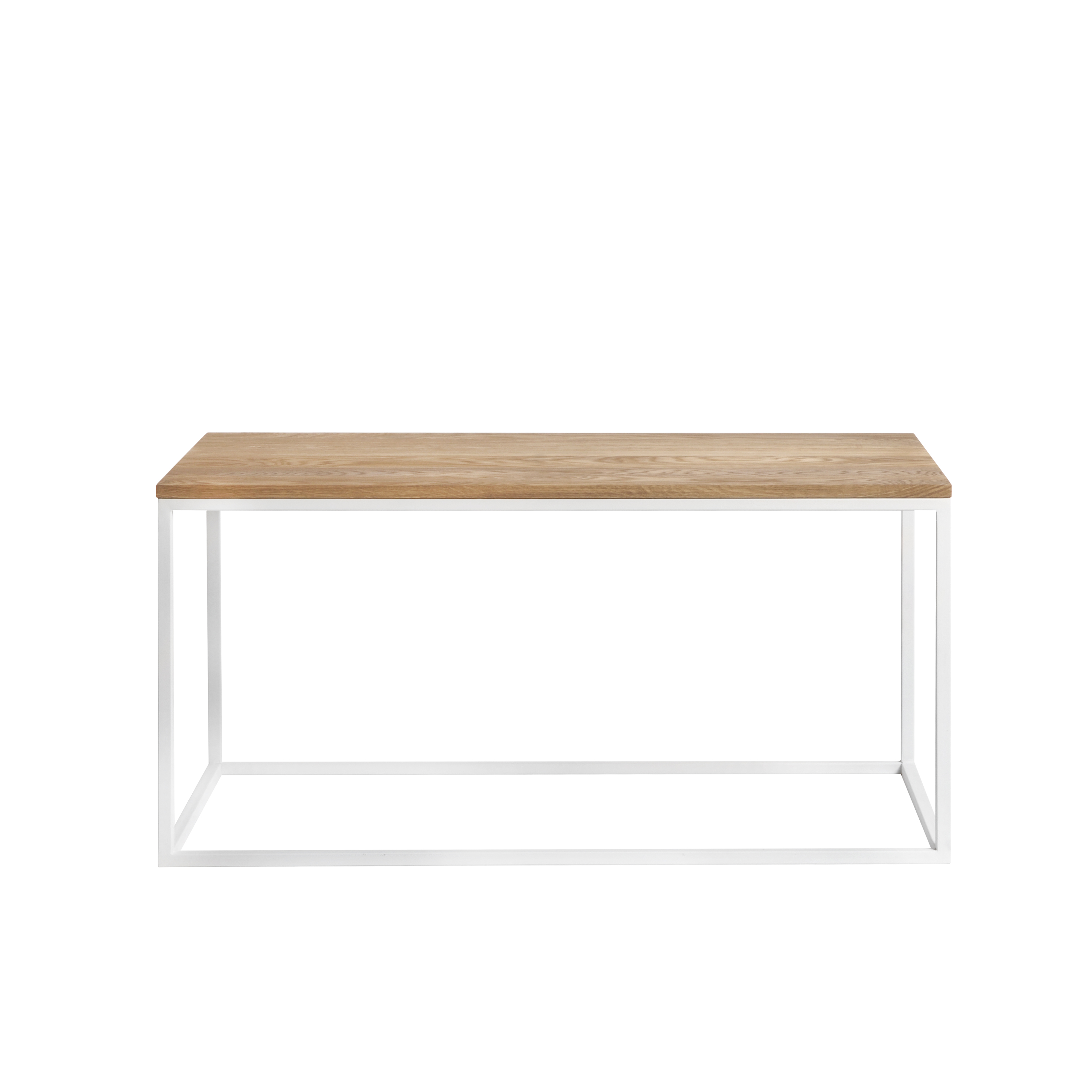 Журнальный/кофейный столик Darmian white, тёмный дубЖурнальные столики<br><br>