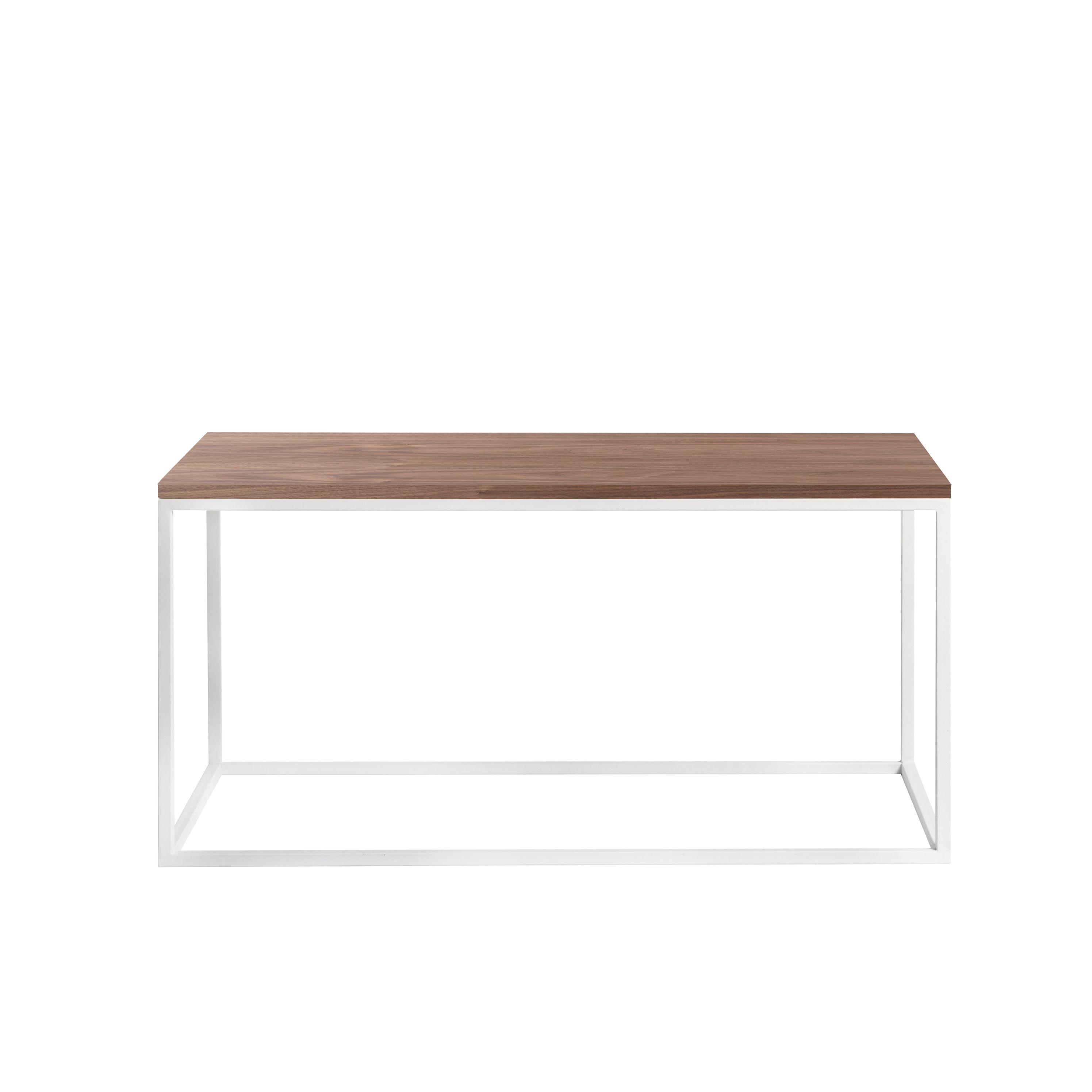 Журнальный/кофейный столик Darmian white, американский орехЖурнальные столики<br><br>