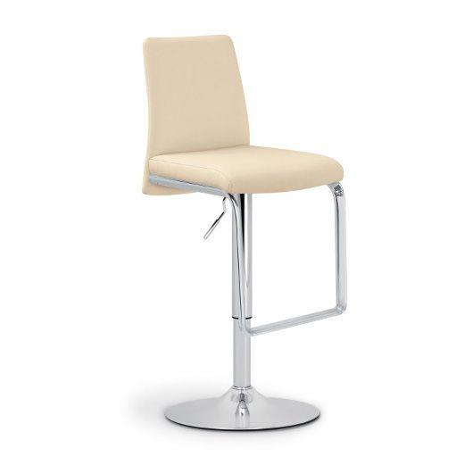 Барный стул Nina SG хром/бежевыйБарные стулья<br><br>