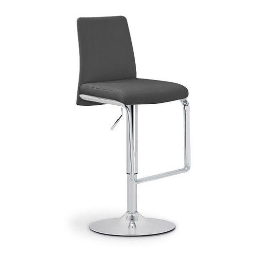 Барный стул Nina SG хром/чёрныйБарные стулья<br><br>