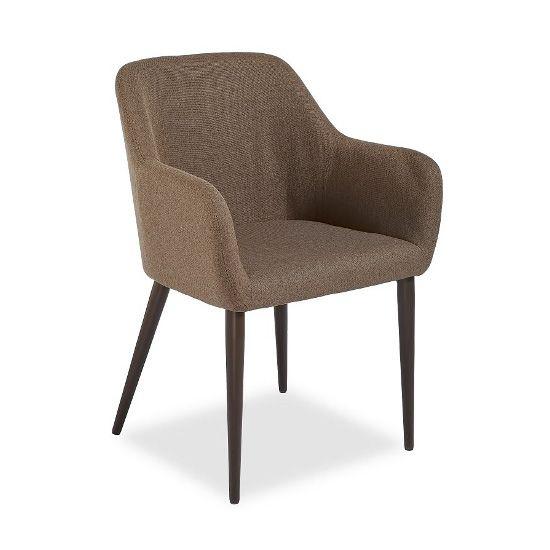 Кресло Federica венге/коричневоеДеревянные стулья<br><br>
