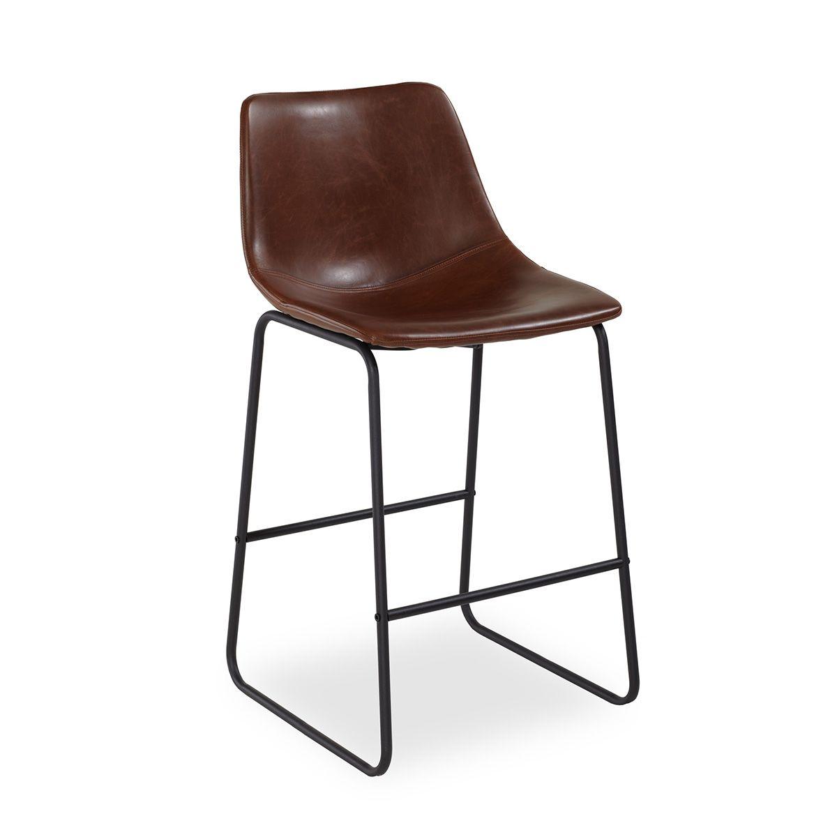 Барный стул Vermut тёмно-коричневыйБарные стулья<br><br>