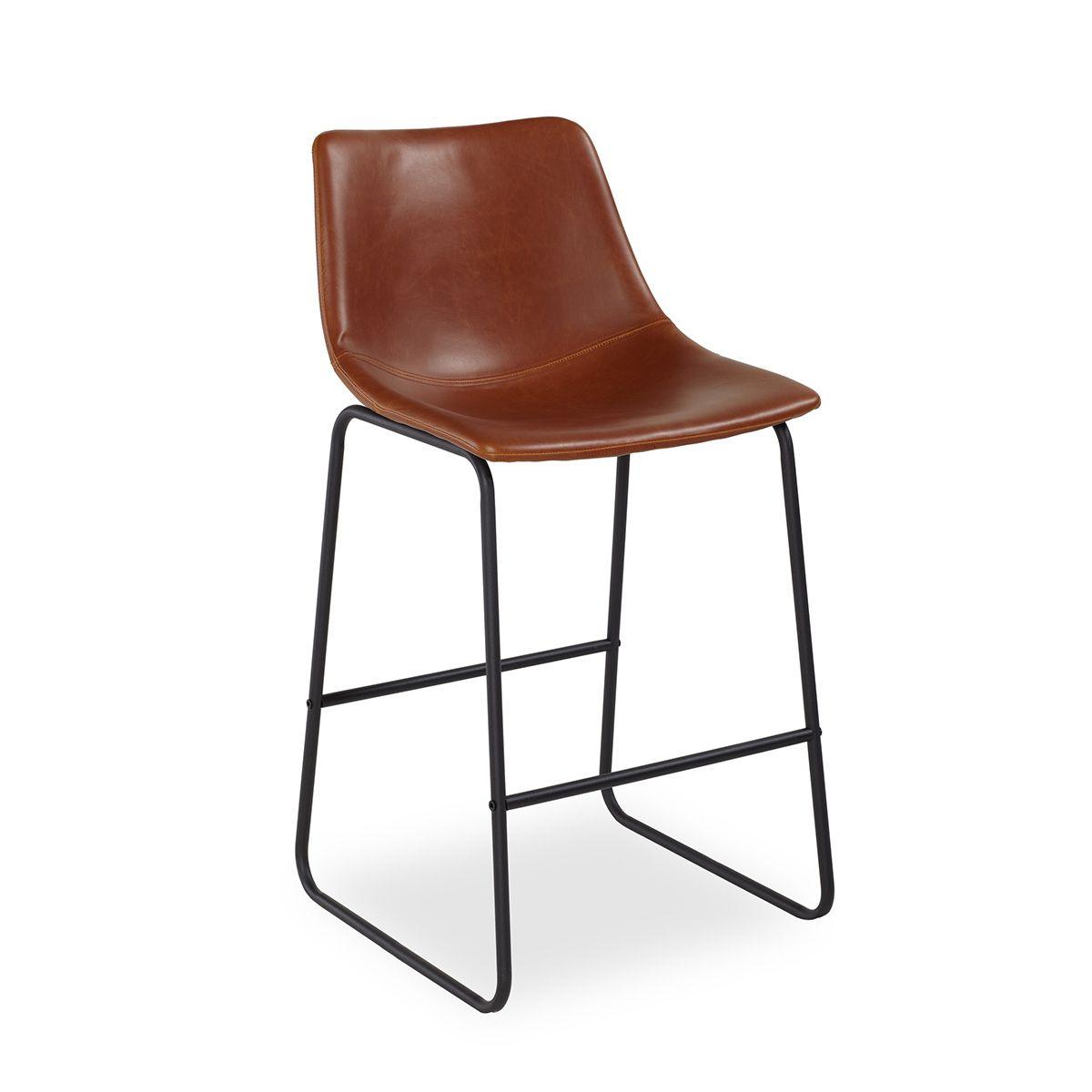 Купить Барный стул Vermut коричневый в интернет магазине дизайнерской мебели и аксессуаров для дома и дачи