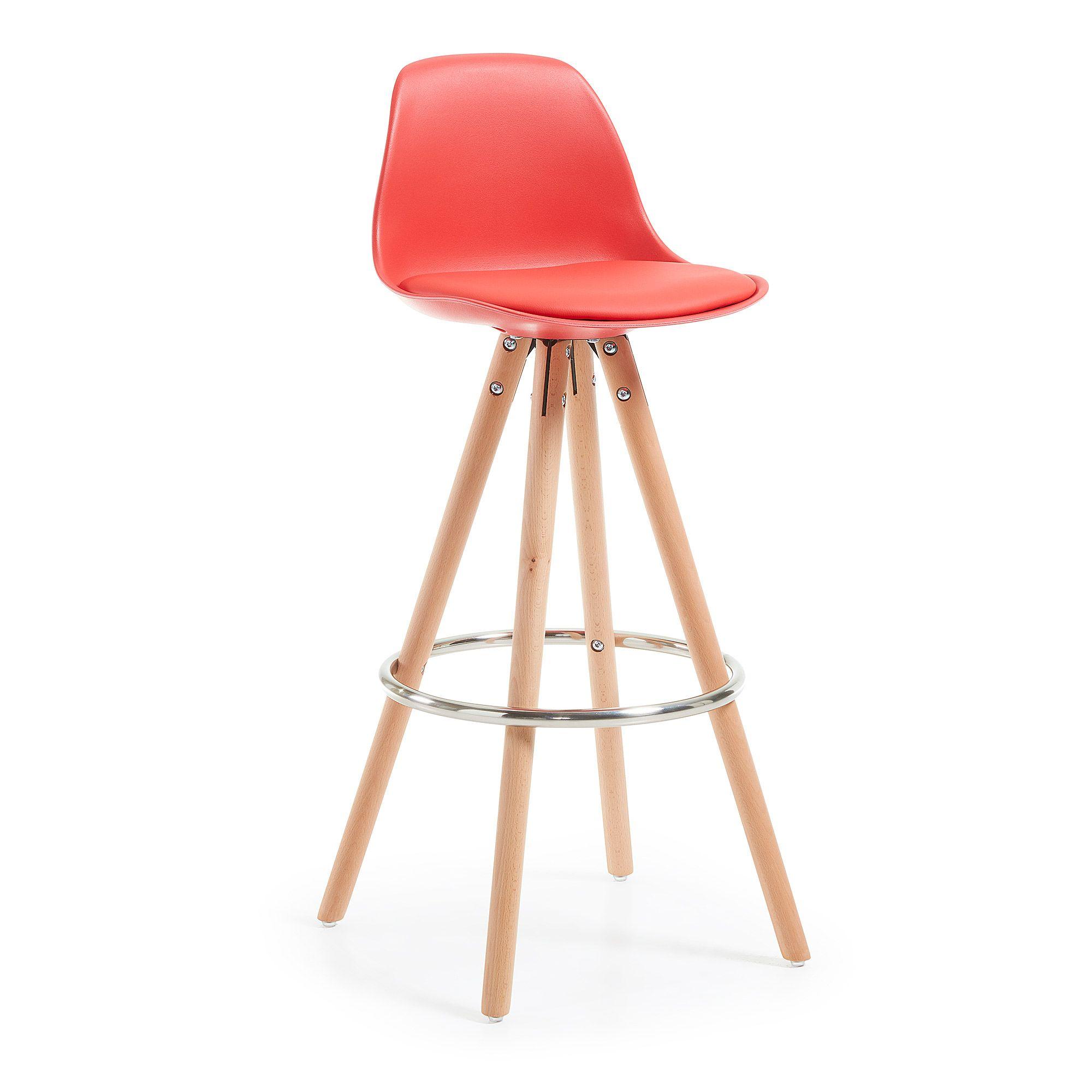 Стул Stag красныйДеревянные стулья<br><br>