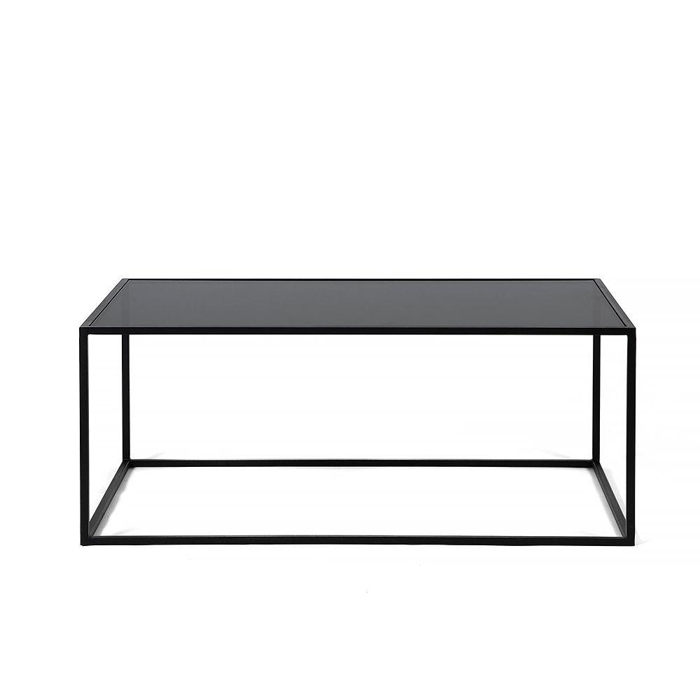 Купить Журнальный стол London black, черное стекло в интернет магазине дизайнерской мебели и аксессуаров для дома и дачи