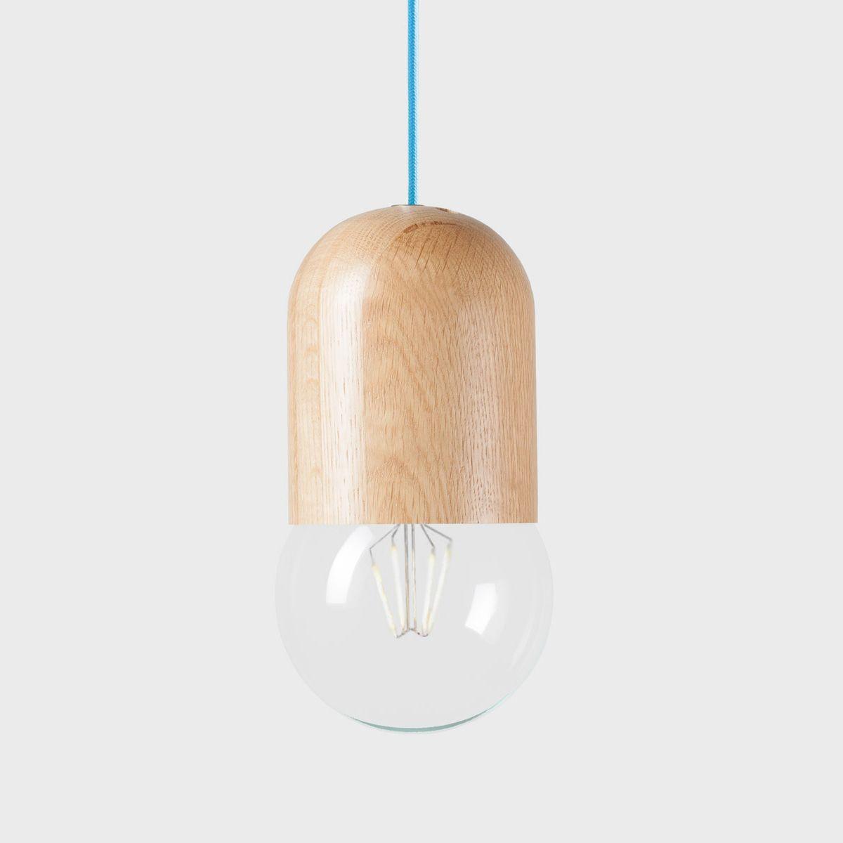 Подвесной светильник Light Bean Bubble со светло-синим проводомПодвесные светильники<br><br>