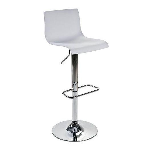 Барный стул Bras белыйБарные стулья<br><br>