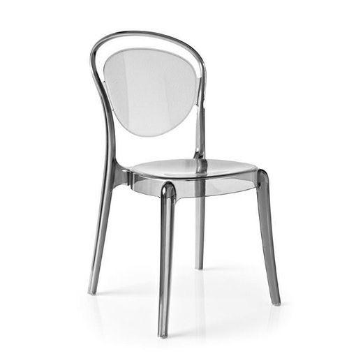 Стул Parisienne дымчато-серыйПластиковые стулья<br><br>