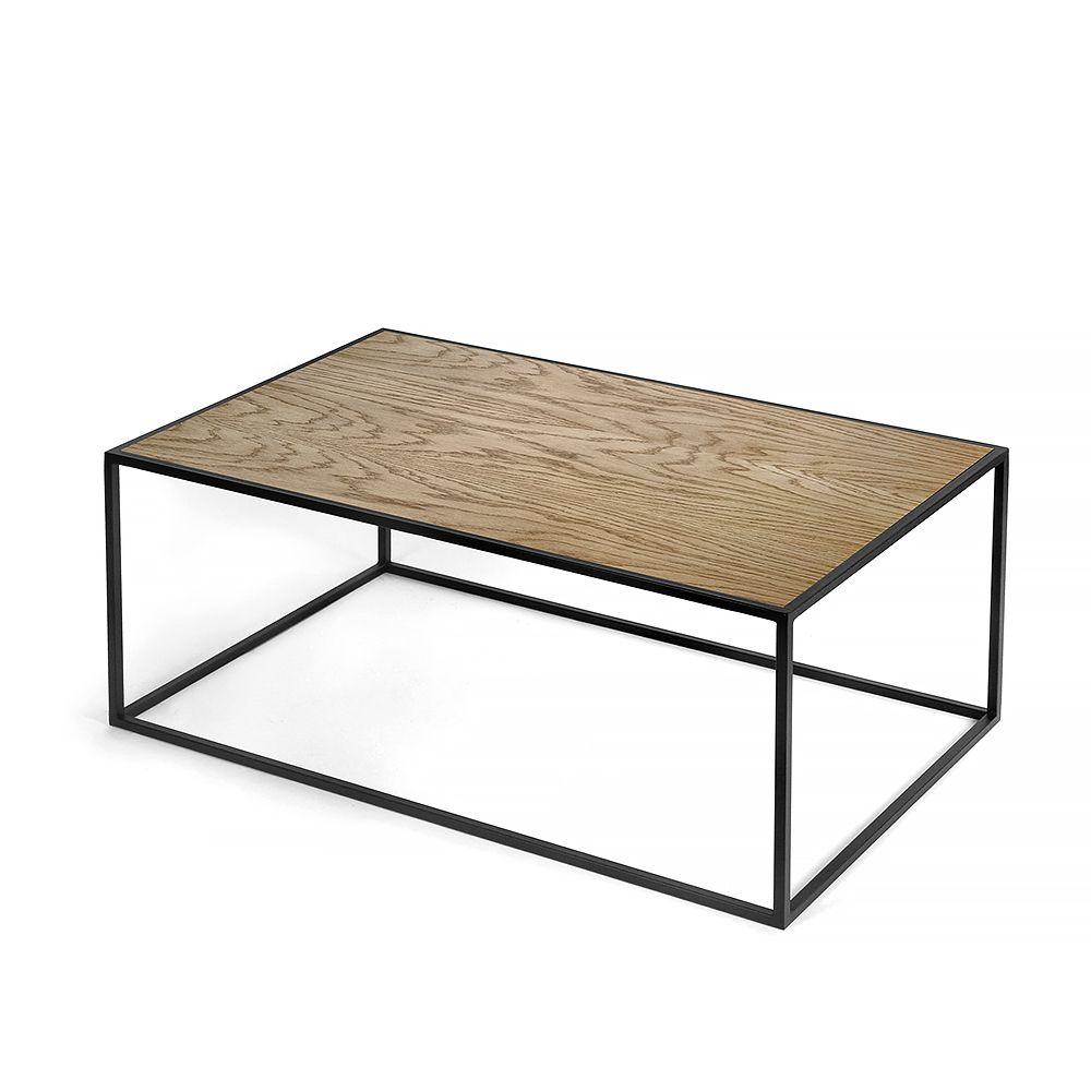 Журнальный стол London black, темный дубЖурнальные столики<br><br>