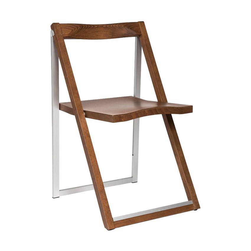 Стул Skip складной орехДеревянные стулья<br><br>