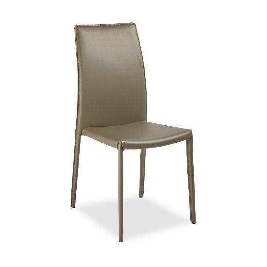 Cтул Viola серо-коричневыйМеталлические стулья<br><br>