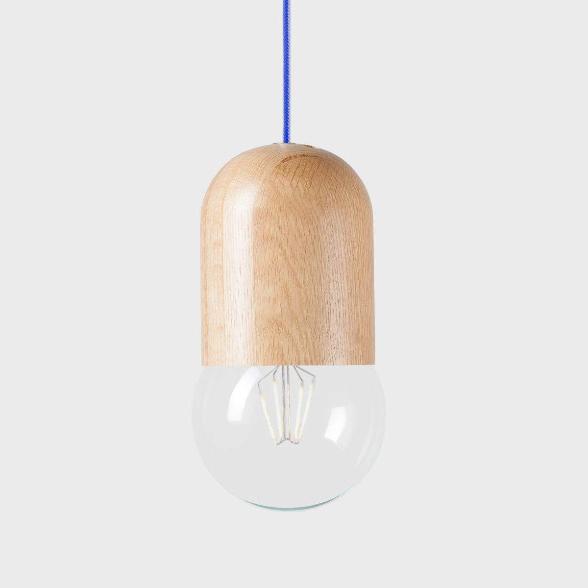 Подвесной светильник Light Bean Bubble со тёмно-синим проводомПодвесные светильники<br><br>