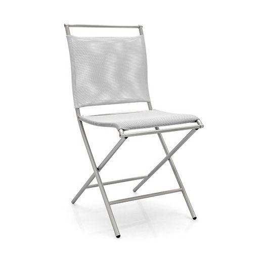 Стул Air Folding складной белыйМеталлические стулья<br><br>