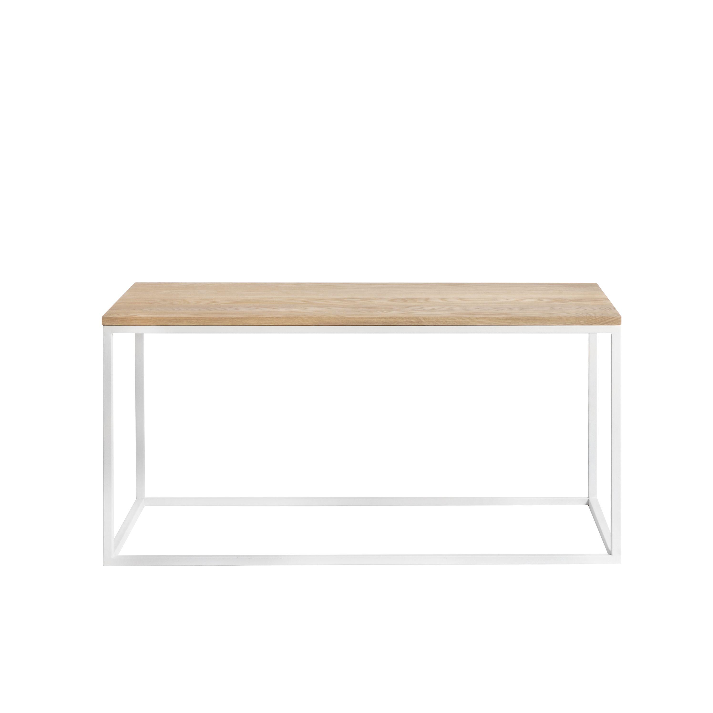 Журнальный/кофейный столик Darmian white, светлый дубЖурнальные столики<br><br>