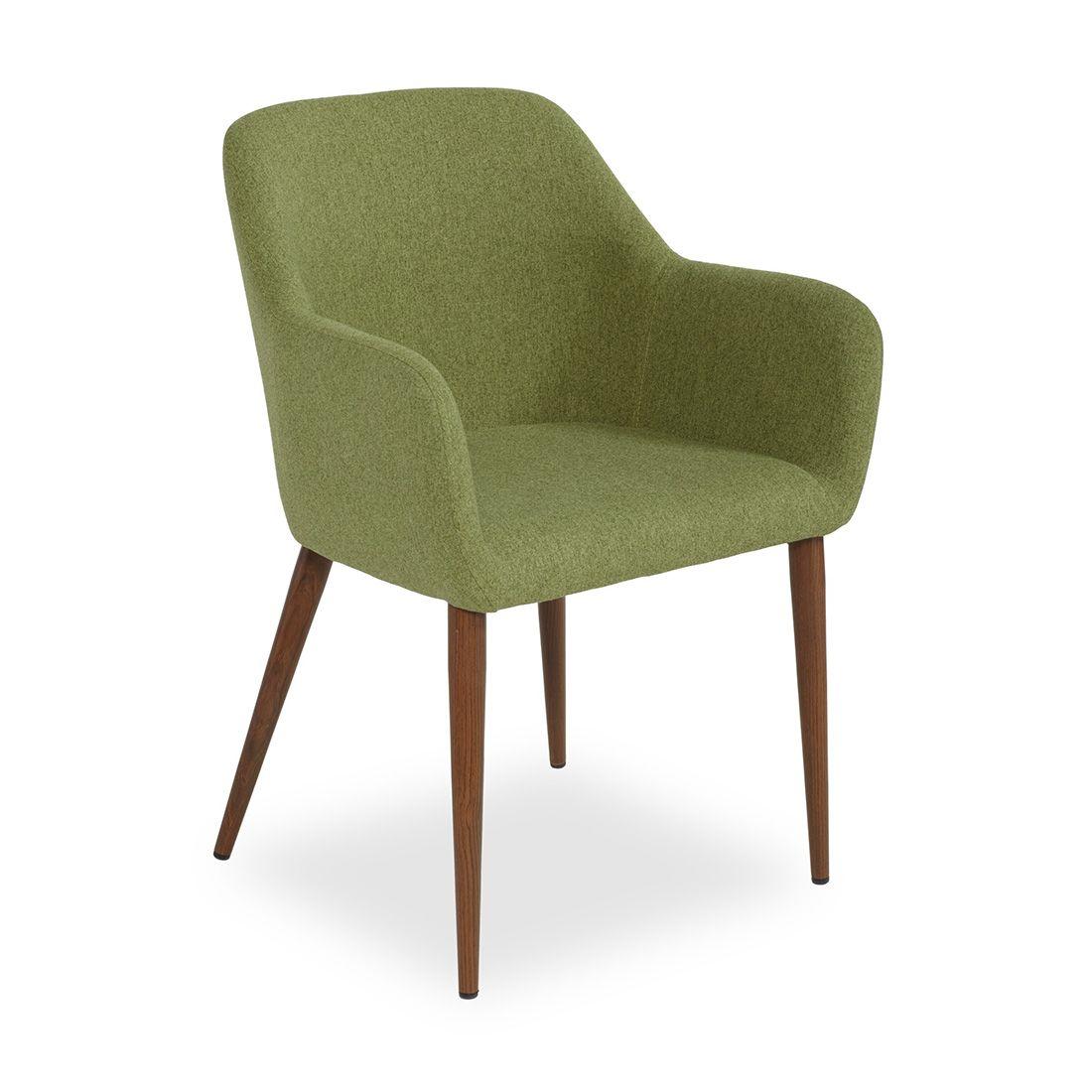 Кресло Federica орех/зелёноеДеревянные стулья<br><br>
