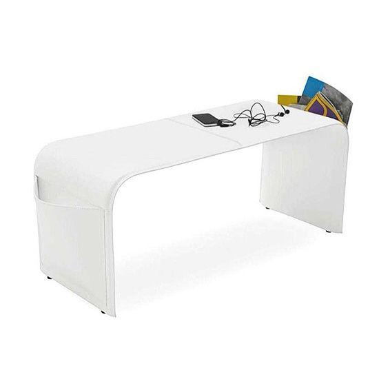 Скамья Shape белаяМеталлические стулья<br><br>