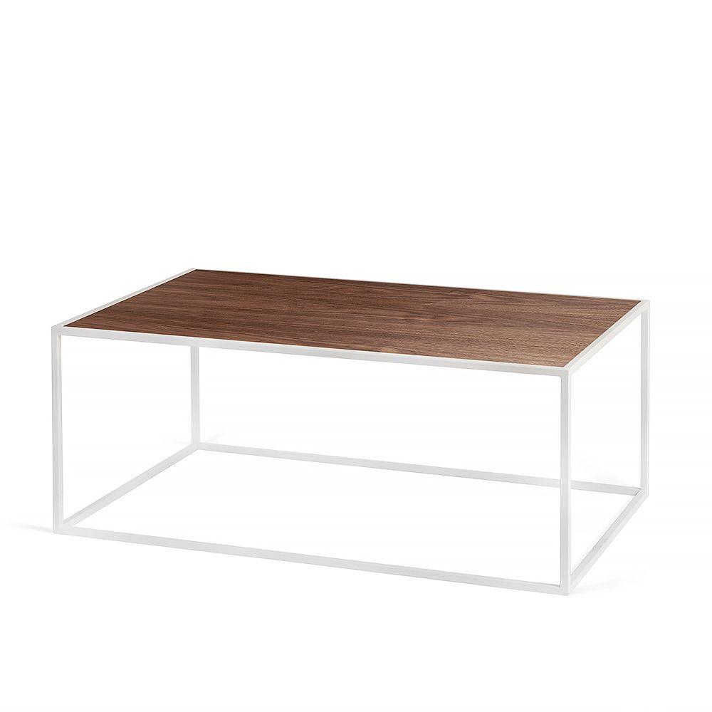 Журнальный стол London white, американский орехЖурнальные столики<br><br>