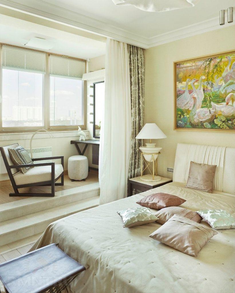 Дизайн гостиной совмещенной со спальней фото фото