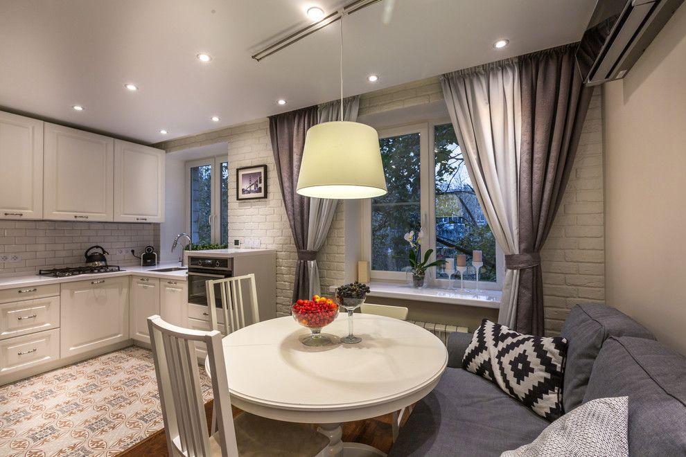Проекты кухня гостиная в панельном доме фото