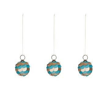 FELICITA Felicita blue bauble set